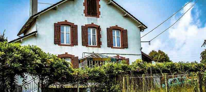 Französisches Bauernhaus am Nordzipfel des Perigord
