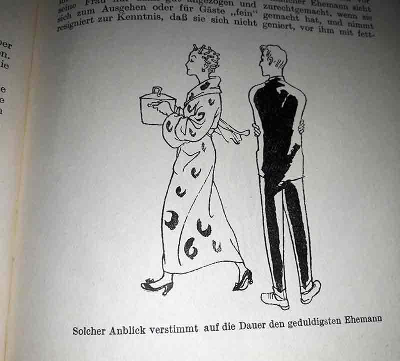 Klare Rollenbilder der 50er-Jahre. Wie wär's, wenn er kocht?
