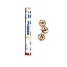 Tubo spara coriandoli 30 cm stampa 18