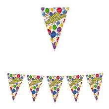 Festone bandierine 600 x 25 cm buon compleanno