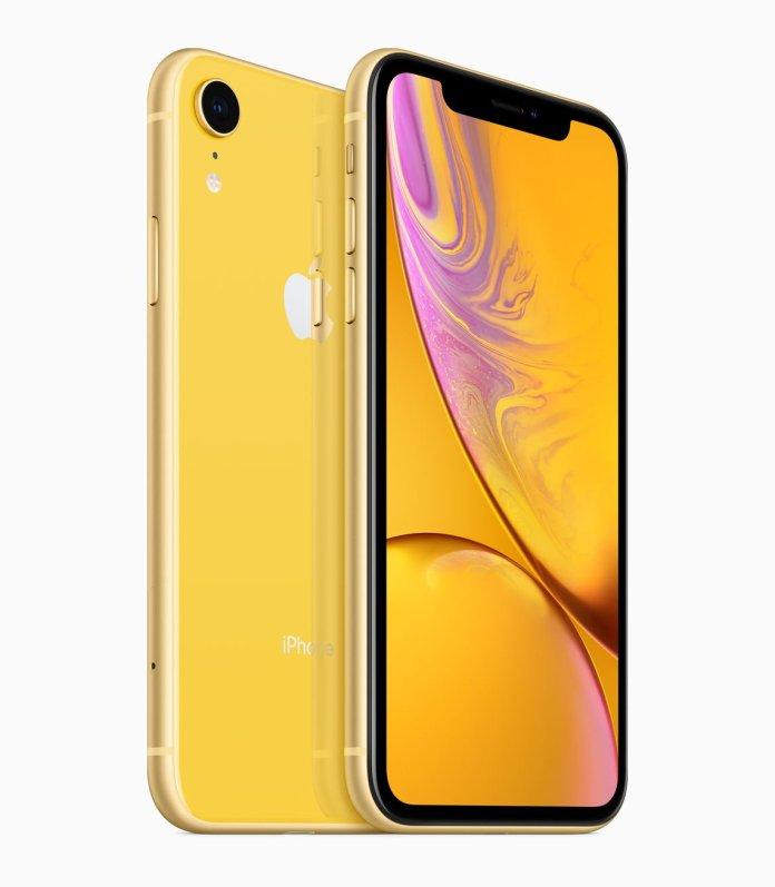el iPhone XR colores