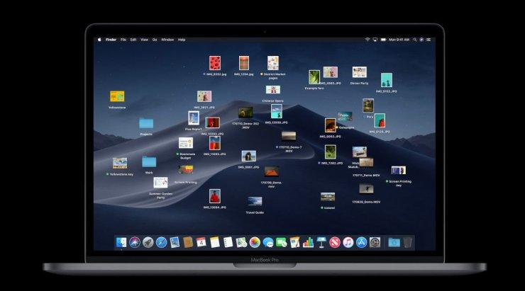 macOS Mojave fecha de lanzamiento y nuevas características: Escritorio Pilas