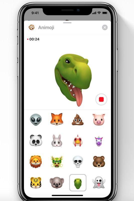 iOS 12 fecha de lanzamiento y nuevas características: T-Rex Animoji
