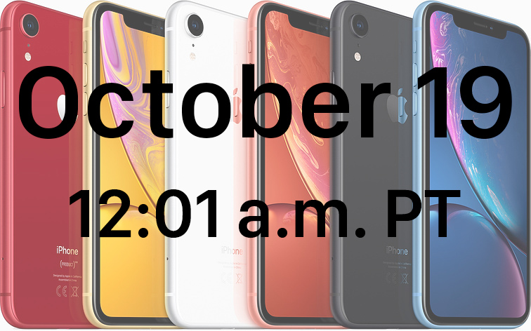 Lanzan preventa del iphone xr