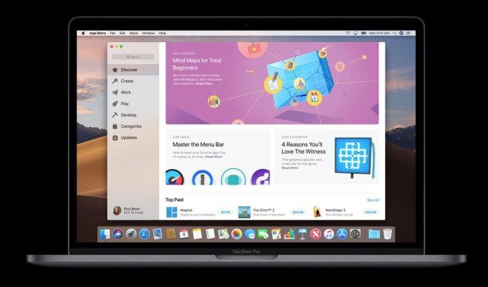 macOS Mojave fecha de lanzamiento y nuevas características: App Store