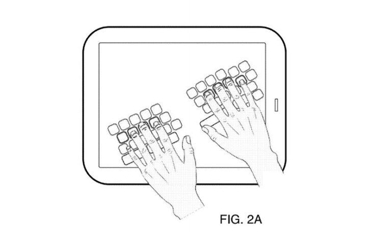 iOS 13 fecha de lanzamiento y nuevas características: Dedo-detección de teclado de patentes