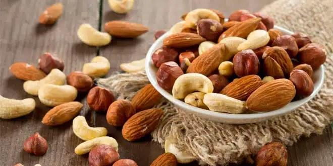 frutos secos y dietas