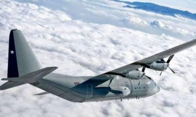 avión chileno desaparecido