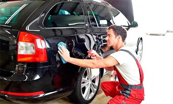 pintura del auto nuevo