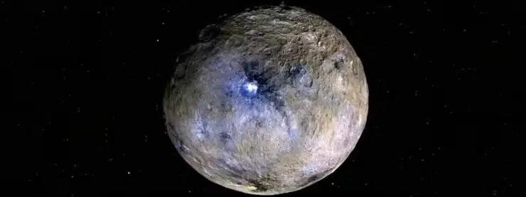 Ceres tiene un mar de agua salada debajo de la superficie