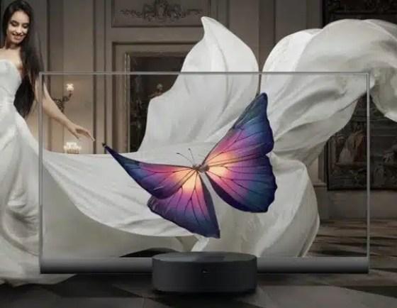 Xiaomi sorprende con televisión transparente