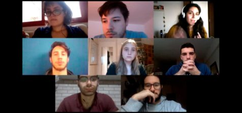 Parte del equipo de investigadores durante una reunión vía Zoom.