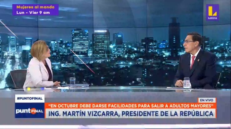Monica Delta y Martin Vizcarra