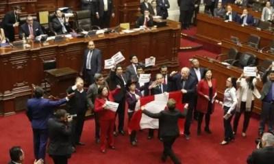 disolución del congreso