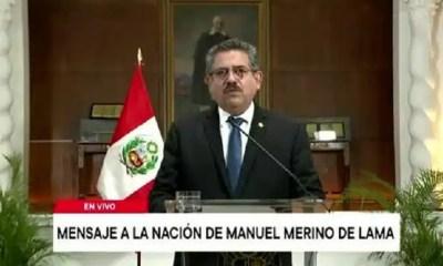 MANUEL MERINO RENUNCIA
