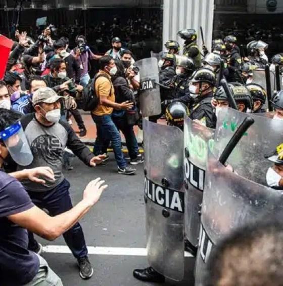 Perú protestas