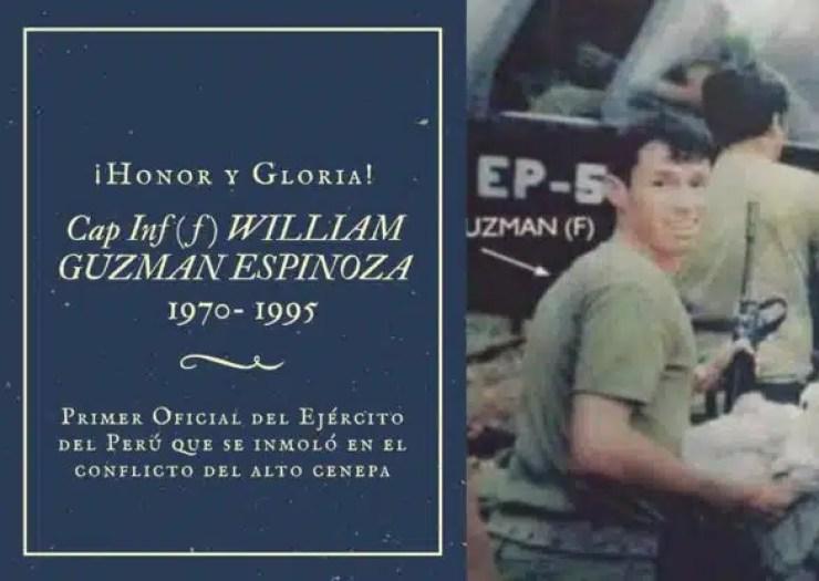 """la patrulla """"Roosevelt"""" del Tte William Guzmán Espinoza"""