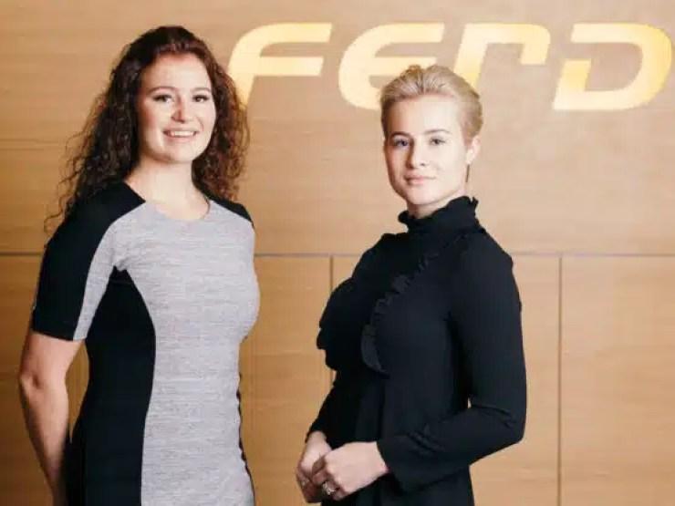 Alexandra y Katharina Andresen