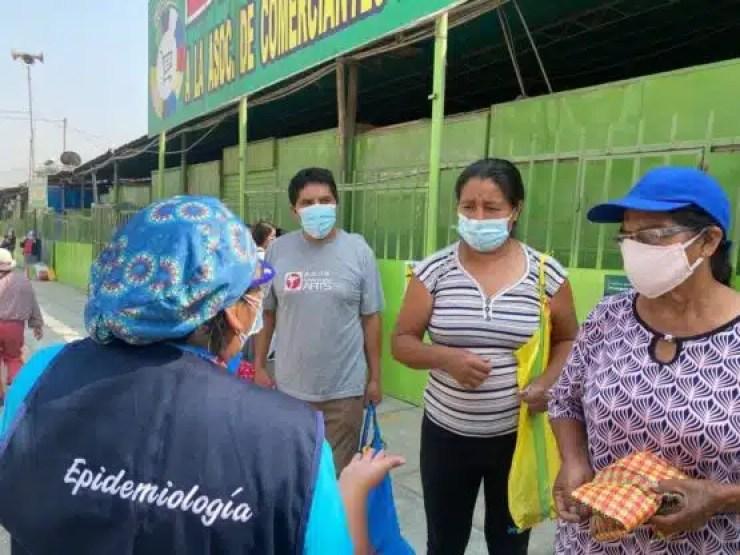 Huaycán Mercado La arenera en campaña ok