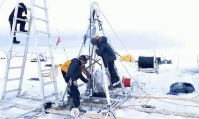 Antártida investigación