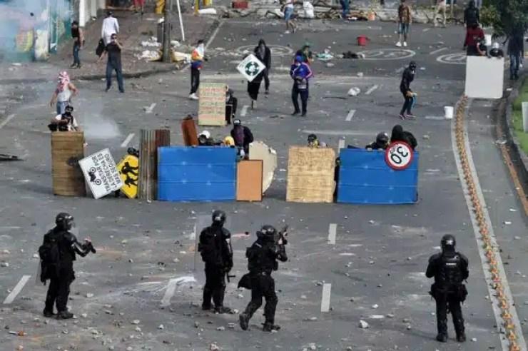 Colombia protesta 4 día