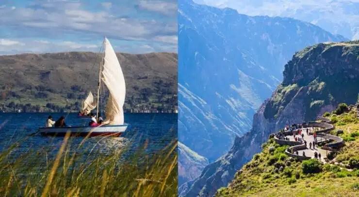 Lago Titicaca y Valle del colca