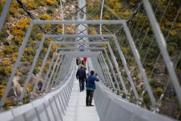 Portugal inaugura la pasarela suspendida más grande del mundo