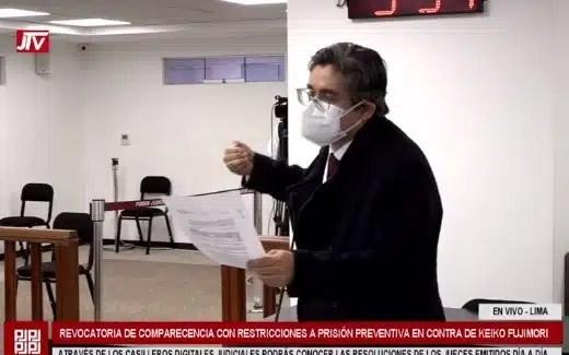 Fiscal José Domingo Pérez