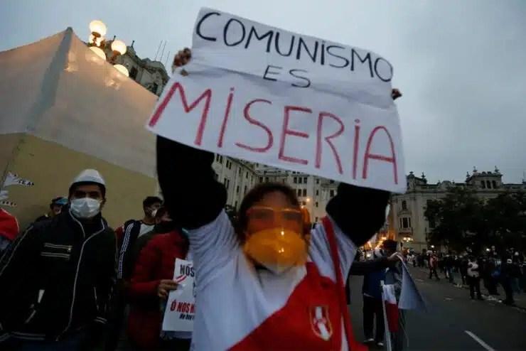 El comunismo es miseria