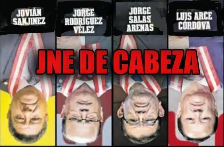 JNE DE CABEZA