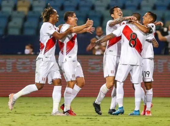 Perú vence a Colombia - Copa América en Brasil
