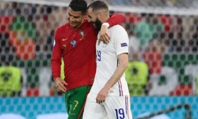 Benzema revela conversación con Cristiano Ronaldo en partido entre Portugal y Francia: 'Un gran amigo'