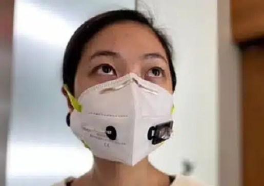 prototipo de mascarillas detecta covid-19 modelo