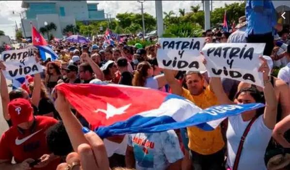 CUBA PRTESTAS