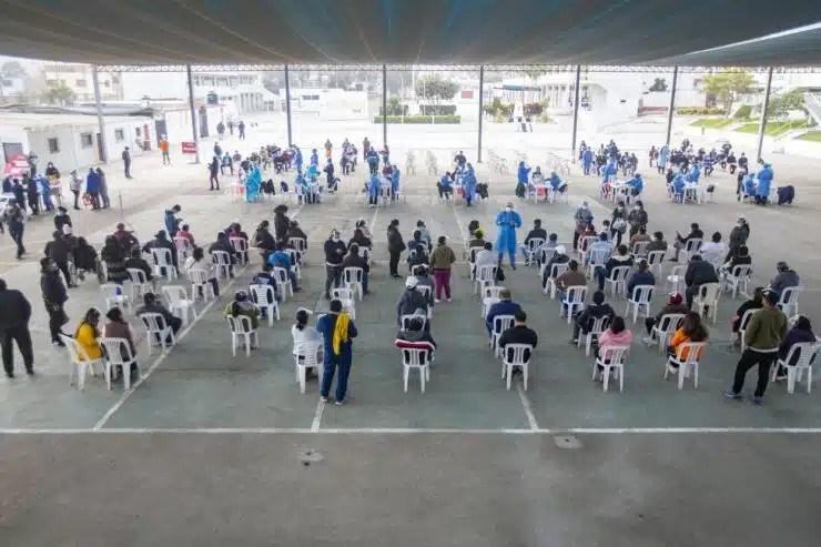 GOBIERNO REGIONAL DEL CALLAO VACUNÓ CONTRA COVID 19 A PROFESORES RURALES