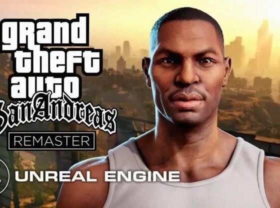 GTA San Andreas Remake estará en Unreal Engine; ¡Descubre los detalles!