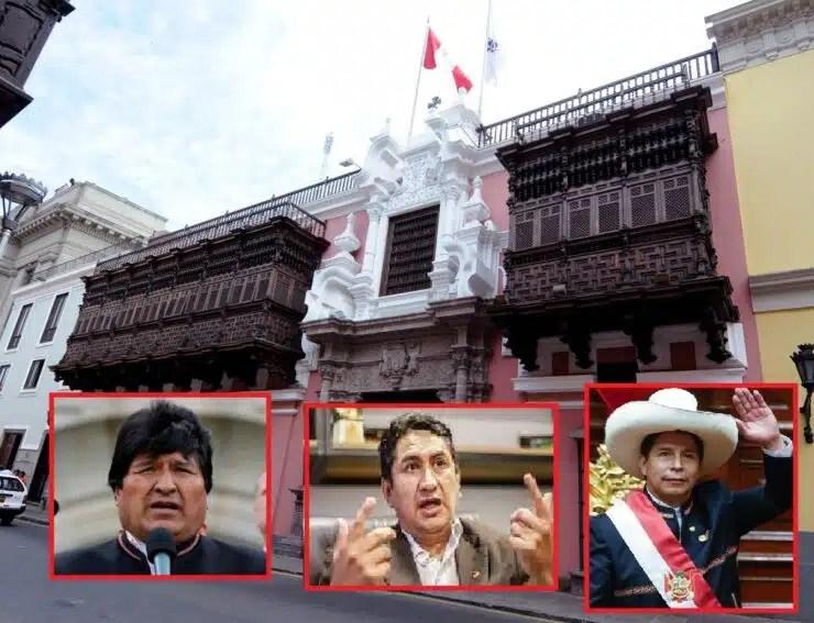 política exterior del Perú