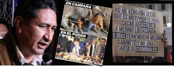 comunistas gobierno Castillo - Cerrón