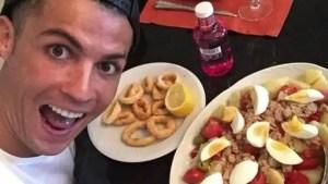 La dieta de Cristiano Ronaldo