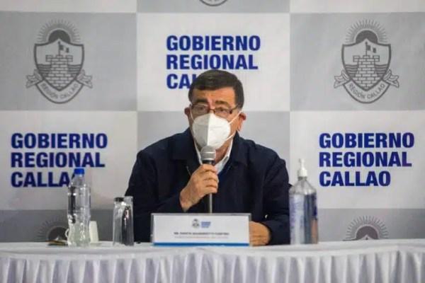 GORE CALLAO - Gobierno Regional del Callao Dante Mandriotti Castro