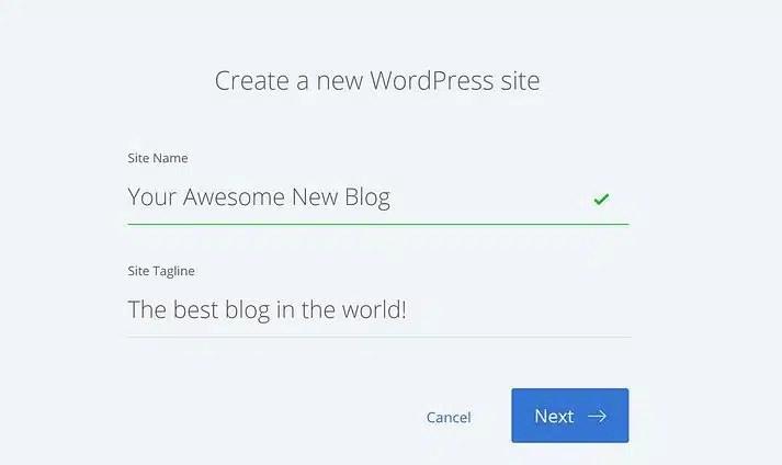 blog en wordpress