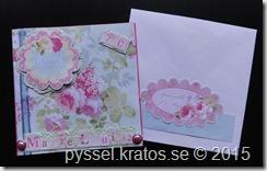 marie-louice 70 kort och kuvert