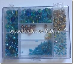 pärlor turkos