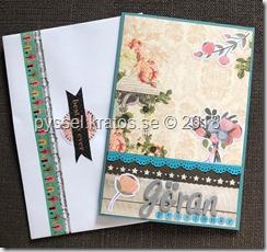 pensionärskort framsida och kuvert