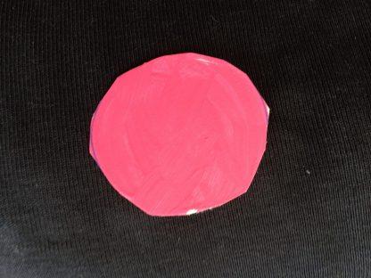 Fuchsia/rosa målad färg