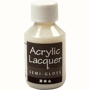 Akryllack halvblank 100 ml