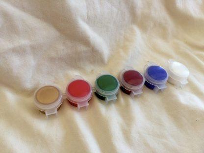 5 ml med 6 färger