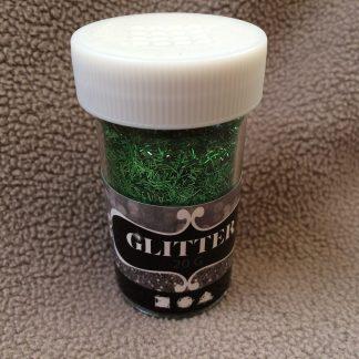 Grönt glitter 20g