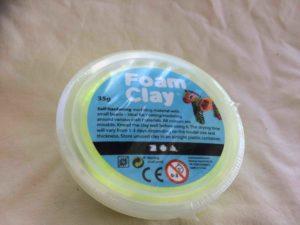Claylera foam, neongul