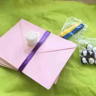Studentpysselpaket, rosa